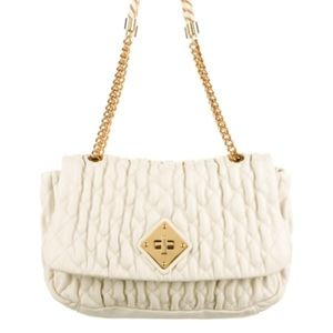 Moschino Quilted Shoulder Bag